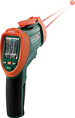 Extech VIDEO IR THERMOMETER WITH NIST
