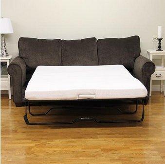 Modern Sleep 4-1/2' Sofa Bed Memory Foam Mattress. Replacement Sofa Bed Mattresses. Mattress...