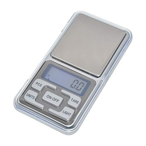 YL TRD Báscula de precisión para cocina Bascula Digital Balanza de bolsillo portátil MH-500 0.1gr X 500g