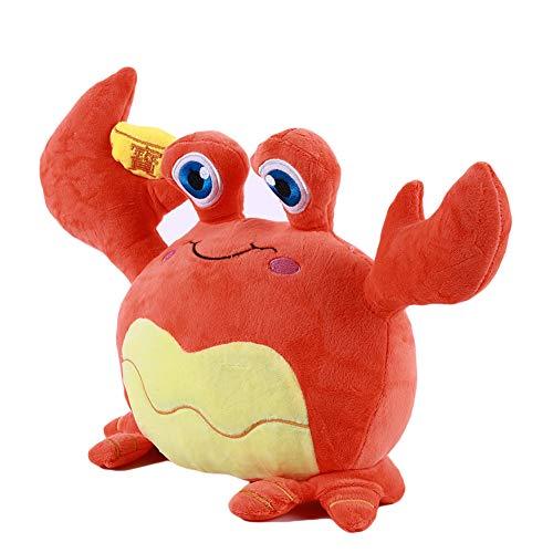 Ellepigy 35cm Niedlichen Raum Krabben Plüsch Spielzeug Sofa Schlafzimmer Weiches Kissen Stofftier Spielzeug (Orange)