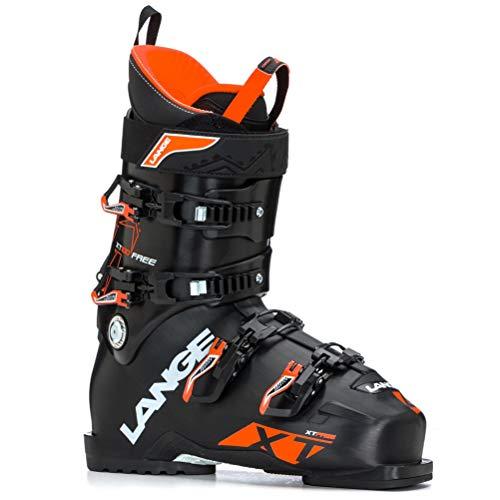 Lange XT Free 100 Bottes de Ski Mixte Adulte Noir/Orange 260
