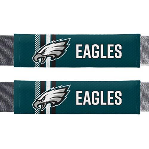 Fremont Die NFL Philadelphia Eagles Rally Seat Belt Pads, Universal Fit, Universal Fit, Team Colors