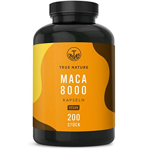 TRUE NATURE -  ® Maca 8000 Kapseln