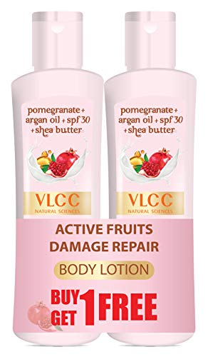 VLCC Active Fruits Damage Repair Body Lotion SPF 30 | PA+++, 100...