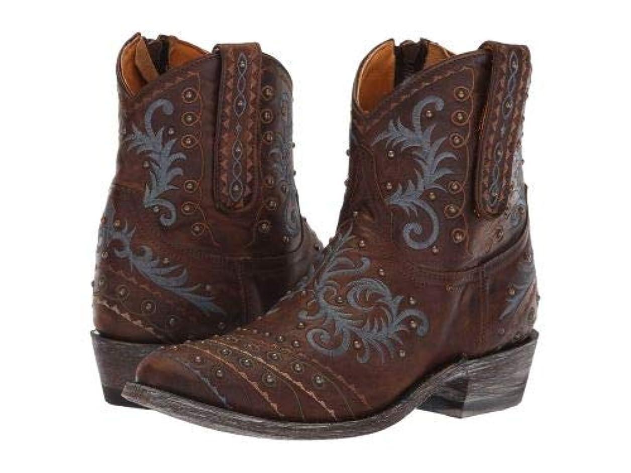 テレビセッション傾向があるOld Gringo(オールドグリンゴ) レディース 女性用 シューズ 靴 ブーツ ウエスタンブーツ Zarape Patch Zip - Goat/Brass [並行輸入品]