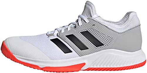 adidas Court Team Bounce M, Scarpe da Running Uomo, Bianco (Ftwbla Negbás Rojsol), 40 EU