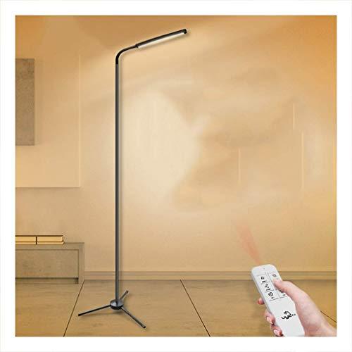 DFJU Lámparas de pie y antorchas Lámpara de pie LED, Lámpara de pie Creativa Sala de Estar de Hotel Minimalista Moderna, Lámpara de pie Trípode Regulable