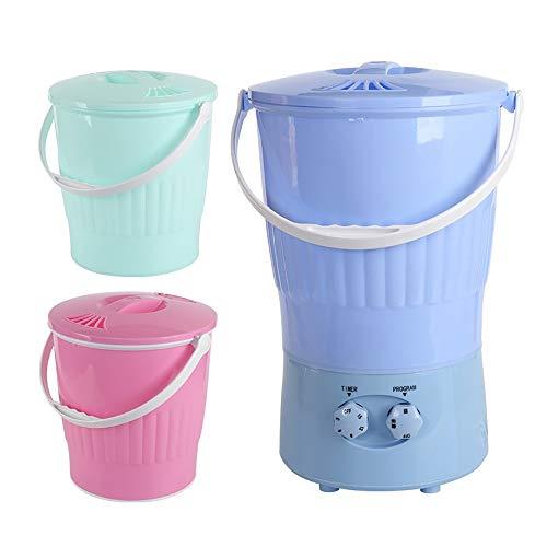 Jiamuxiangsi Mini wasmachine Mini Wasmachine - Wasmachine Half automatisch Kleine Ondergoed Wasmachine Vat Draagbare Multifunctionele Gestapelde Wasmachines & Drogers
