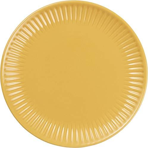 IB Laursen Frühstücksteller, Brotteller MYNTE Mustard gelb D. 19,5cm