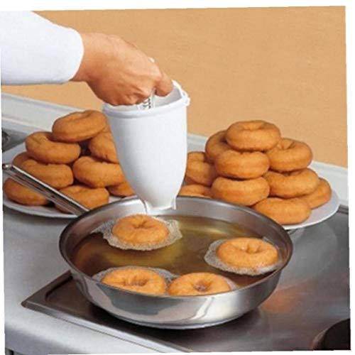 buñuelos de moldes de plástico rosquillas Fritas dispensador de Agua portátil para la Cocina rápida y fácil adminículos Magdalenas Donuts árabes