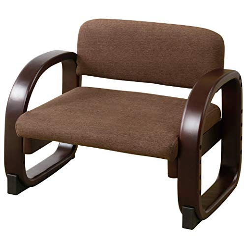 正座椅子 木製 天然木 高さ調節可能 正座椅子 木製 天然木 高さ調節可能/ブラウン(20)
