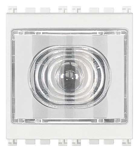 Vimar Serie Arke - Torcia portatile torcia 230 V, colore: bianco