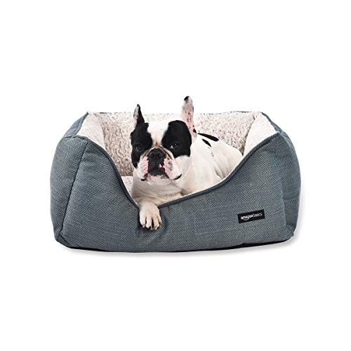 AmazonBasics Cuddler Pet Bed - Medium, Green