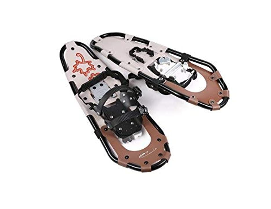 スプリット肥満独裁Pansel Performance Light Weight Snowshoes for Men Women Kids (Brown Small) [並行輸入品]