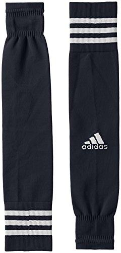 adidas Kinder Team Sleeve 18 Stutzen, Dark Grey/White, EU 34-36