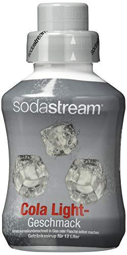 sodastream Sirup Cola-Light, Ergiebigkeit: 1x Flasche ergibt 12 Liter Fertiggetränk, Sekundenschnell zubereitet und immer frisch, 500 ml, 1020102491