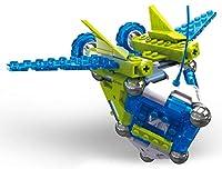 Costruzioni per bambini con magneti Giocattolo 3 in 1: lo Space Buggy si trasforma in uno Swooper o in un Fly-by 12 pannelli magnetici in diversi colori per costruire 10 palline di metallo non magnetiche Include magneti piccoli, istruzioni per la cos...