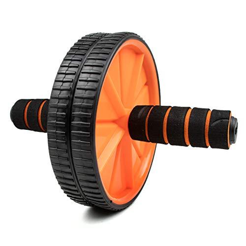 Phoenix Fitness Ab Roller - Abdominales Para Ejercicios De Fitness Para El Hogar y El Gimnasio - Mangos De Espuma Para Entrenamiento De Abdominales