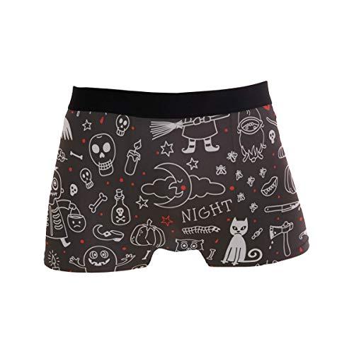 Elroy Gibbon Herren Boxershort Boxer für Männer Grafik Männer Unterhosen Unterwäsche,5,XXL