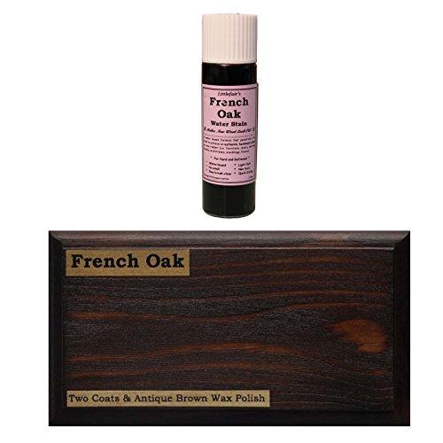 Littlefairs umweltfreundliche wasserbasierte Holzlasur und Farbe - Traditionelles Sortiment (Tester Pot, französische Eiche)