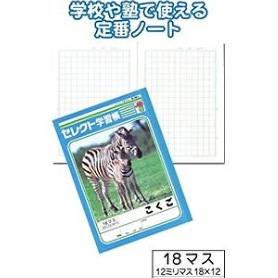 学習帳K-14-2こくご18マス12mm方眼 32-923【10個セット】