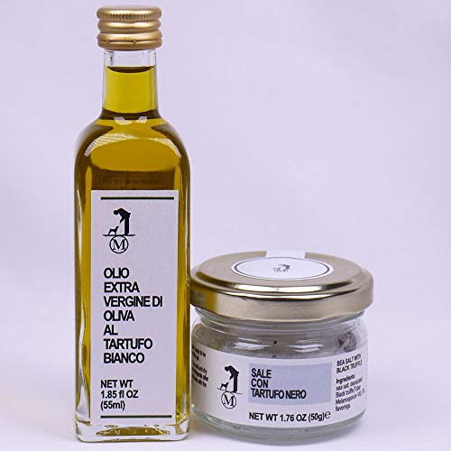 M株式会社 サマー黒トリュフ塩 50g 白トリュフオイル 55mlセット