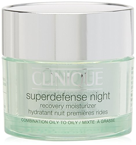 Clinique Superdefense Night Recovery Moisturizer Iii/Iv 50 Ml 1 Unidad 50 g