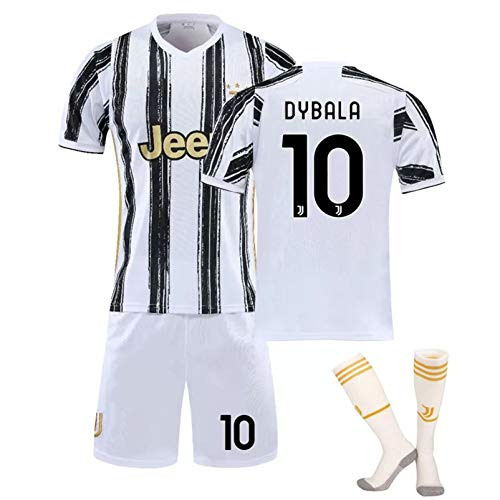 CFLL 20/21 Season #7 Ronaldo Home Jersey Football Club Sports T-Shirt Set Loose Breathable for Kids/Youth/Adult,Style 4,24
