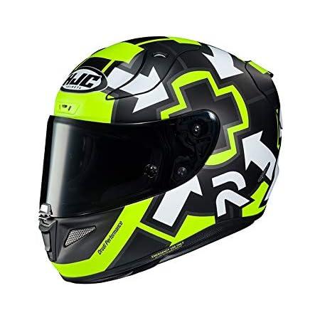 Hjc Helmets Herren Nc Motorrad Helm Gelb Schwarz Xs Auto