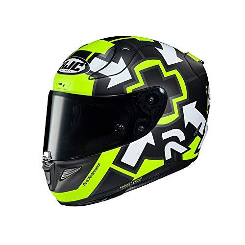 Casco moto HJC RPHA 11 IANNONE REPLICA 1 MC4HSF, Nero/Giallo, L
