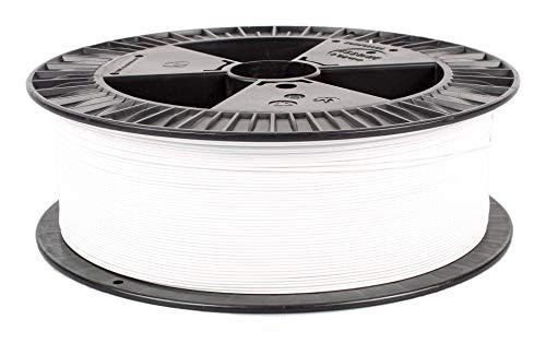 Filamento-PM PLA Blanco, 1,75 mm, 2 kg de filamento de alta calidad fabricado en la UE