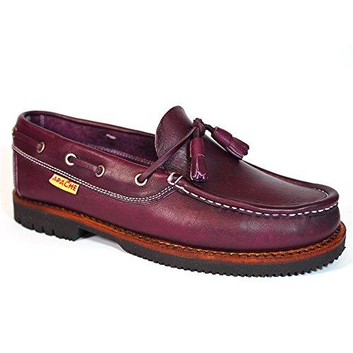 Zapatos Apache 403 Burdeos - Color - Burdeos, Talla -...