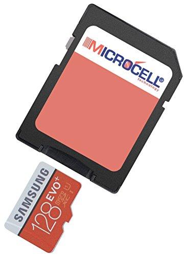 yayago Microcell SD 128GB geheugenkaart / 128 GB Micro SD-kaart voor GoPro Hero7 [zilver, wit, zwart]