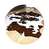 tappeti Color Finta Pelliccia Animale Mucca Modello Animale Europeo Tavolino da Salotto Camera da Letto in Peluche Bianco E Nero tappetini (Color : Brown, Size : 140 * 200cm)