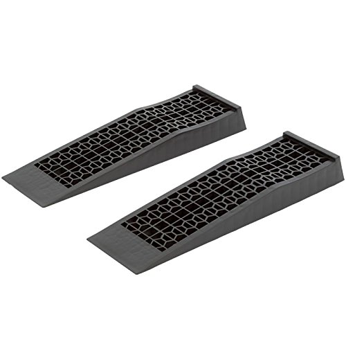 Discount Ramps 6009-V2 Low Profile Plastic Car Service Ramps 2 Pack