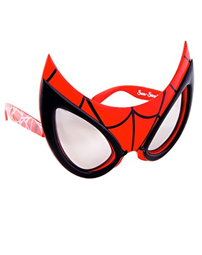 Sun-Staches Costume Sunglasses Spiderman Party Favors UV400