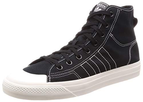 adidas Nizza HI RF, Sneaker Hombre, Core Black/Footwear White/Off White, 42 2/3 EU