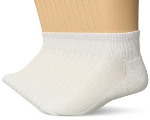 Hanes Low Cut Sock - Weiß -