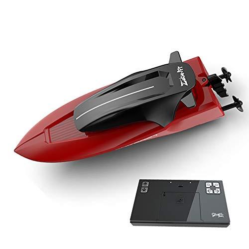 Tastak Wiederaufladbare Fernbedienung U-Boot-Ultra-Small Racing-Boot wasserdichte Simulation Nuklear-U-Boot-Electric Treedboat Kinderspielzeugfernbedienungsboot (Color : Rot)