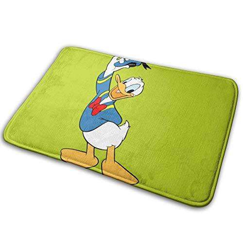 xianhaotaojiafa Donald_Duck Alfombrilla de baño suave y cómoda, antideslizante, alfombra de cocina 15,7 x 23,5 pulgadas