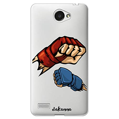 dakanna Funda Compatible con LG Bello II - LG Bello 2 de Sil