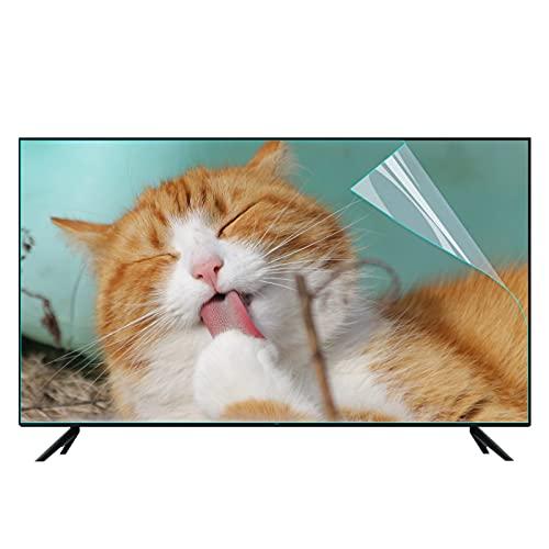 Protector antideslumbrante de pantalla de TV de 65 pulgadas, película de filtro de luz azul mate mate que protege sus ojos Previene la miopía, para SHARP, SONY, SAMSUNG, LG, etc.,65Inch (1440*809mm)