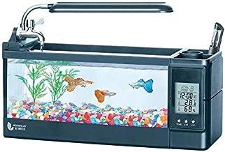 حوض سمك مائي الكتروني مزود بشاشة بمؤقت وساعة كهربائية مناسبة لتزيين المكاتب من ميبرو