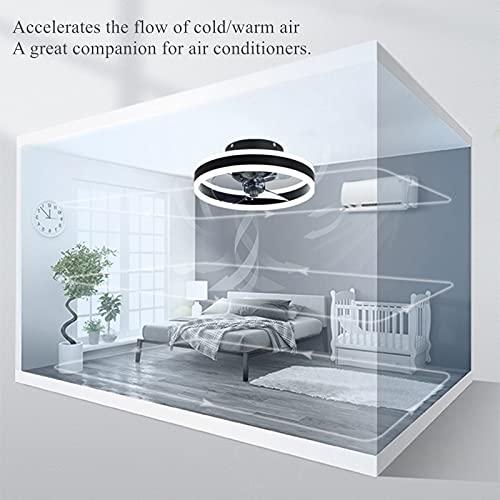 SOLIKU Ventiladores para el techo con lámpara