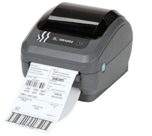 Zebra GK420d imprimante thermique imprimante d'étiquettes avec 1000gratuit Labels–Royal Mail/tous les Courier Recommandé d'imprimante