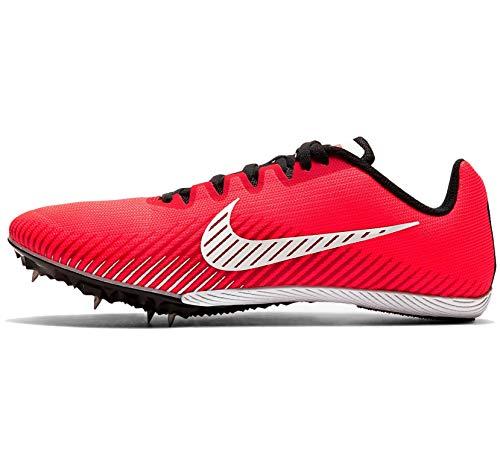 Nike Zoom Rival M 9, Scarpe da Corsa Unisex-Adulto, Laser Crimson/White-Black-University Red, 38.5 EU