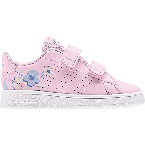 Adidas Advantage I, Zapatillas de Estar por casa Bebé Unisex, Multicolor Ros Cl A Ros Cl A Azurea 000, 26 EU