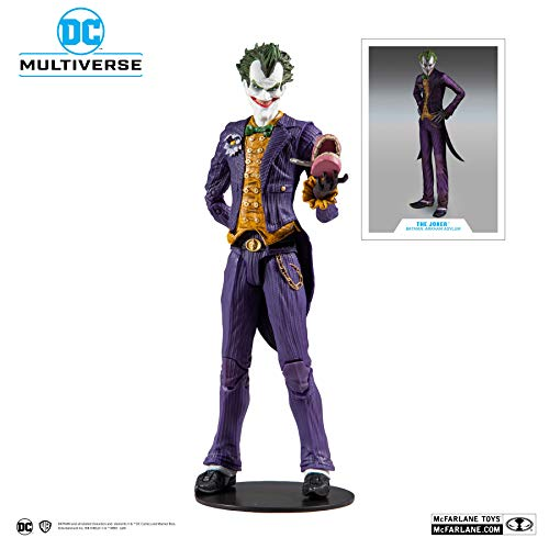 Batman Arkham Asylum McFarlane Toys DC Multiverse The Joker Action-Figur