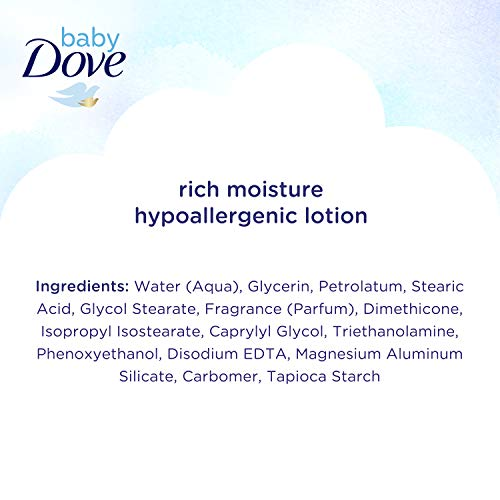 Baby Dove Rich Moisture Lotion, 20 Ounce