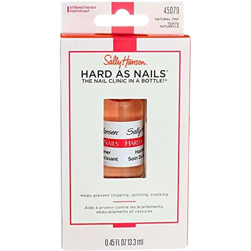 Sally Hansen Hard As Nails Natural Tint 0.45 Ounce (13.3ml) (2 Pack)